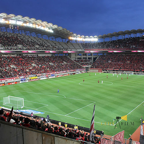 Stadium Lights Solar: LED High-Mast Football Field Lights For College & High